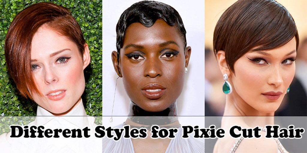 Different Styles for Pixie Cut Hair