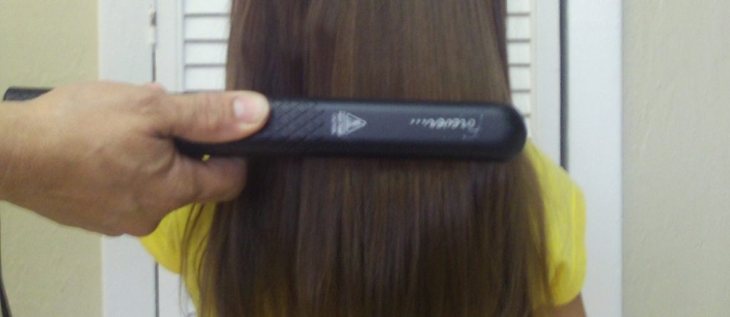 how to curl african american hair with a flat iron