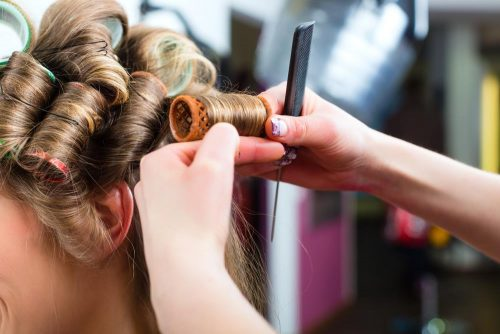 How To Use Hot Rollers On Short Hair Step By Step Makeupher